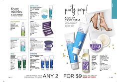 Online Brochure by Avon. Explore Avon's site full of your favorite products, including cosmetics, skin care, jewelry and fragrances. Pedicure Kit, Pedicure Tools, Foot Cream, Hand Cream, Avon Catalog, Magazine Layout Design, Body Powder, Avon Online, Feet Care