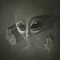 — Encounter some from another planet! Les Aliens, Aliens Funny, Aliens And Ufos, Ancient Aliens, Alien Aesthetic, Grey Alien, Alien Tattoo, Alien Concept, Alien Abduction