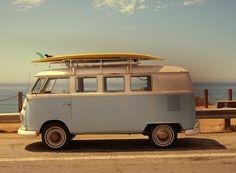 VW bus aka dream ride.
