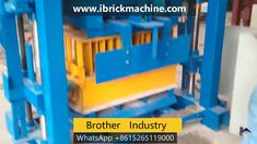 is a small semi-automatic concrete block making machine, low investment get high profits shaping cycle is as short as for size It can . Machine Video, Making Machine, Achieve 3000, Conveyor Belt, Concrete Blocks, 8 Hours, Mixer, Belts, Brick