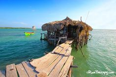 Floyd's Pelican Bar, Jamaica - probably the coolest and most unique bar we've visited so far!