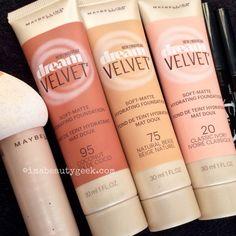 Sneak peek: Maybelline Dream Velvet Soft-Matte Hydrating Foundation