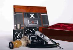 Shave Straight: Straight Razor Shaving Kit by Michael Gardner, via Behance