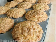 Amazing Banana Crumb Muffins - I have some bananas just begging to be used for this recipe.
