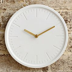Decorative Wall Clock by Beautiful Things Online - White ... https://smile.amazon.com/dp/B01ING1Y6Q/ref=cm_sw_r_pi_dp_x_XZoKybSEGS8J9