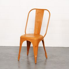 Buy Frankie Dining Chairs Orange Online | Dining Chairs | Chairs - Retrojan