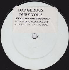 Dangerous Dubz - Dangerous Dubz Vol 3 (1997, Stickered, Vinyl) | Discogs