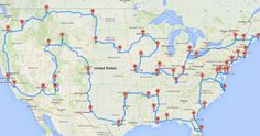The US has so many amazing destinations, and this article reveals the ultimate way to see them all. The Perfect Road Trip, According to Science. #OWSentry