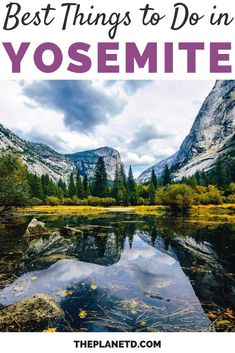 Yosemite is known for its mountain peaks, waterfalls and hiking trails. There are so many things to do in Yosemite, it requires a few days. Here are some of the best hiking trails and viewpoints to help you plan your vacation. | Blog by the Planet D | #Travel #Yosemite | yosemite things to do in | yosemite hikes | yosemite vacation Travel Yosemite, Yosemite Vacation, Greatest Adventure, Adventure Awaits, Adventure Travel, Yosemite National Park, National Parks, Stuff To Do, Things To Do