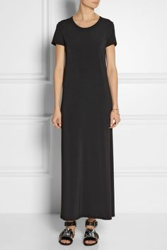 The Row | Marylou stretch-matte jersey maxi dress | NET-A-PORTER.COM