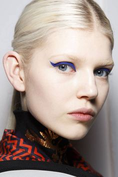 Kenzo Makeup #FashionWeek #Beauty #maquillaje #delineado