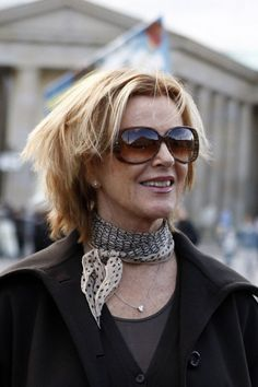 """fridalution: """"Anni-Frid Lyngstad in Berlin, Germany, looking fabulous, c. 2007-2008. Photo courtesy of Homage to Anni-Frid Lyngstad [Michael & Bernd Scheiber] """" ☀️"""