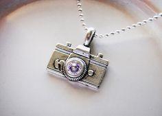 Vintage Photographer Necklace