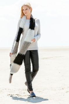 Lana Grossa RAGLANPULLI MIT RIPPENPASSE Principessa - FILATI Handstrick No. 57 (Herbst/Winter 2014/15) - Modell 13 | FILATI.cc WebShop