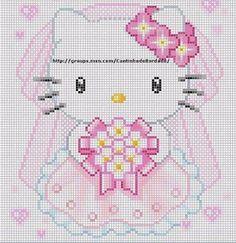 ENCANTOS EM PONTO CRUZ: Hello Kitty