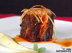 Solomillo con majado cubano y salsa picante de coliflor | Gastronomía