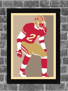 San Francisco Deion Sanders Portrait Sports Print by FanFourLife Best Cb, Bo Jackson, Poster Prints, Art Prints, Sports Art, San Francisco Giants, Kansas City Chiefs, Great Pictures, Pittsburgh Steelers