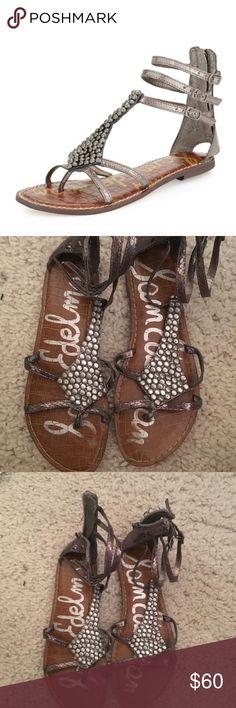 Sam Edelman gladiator sandals size 7.5! Adorable shoes! Sam Edelman Shoes Sandals