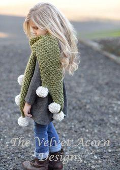 Knitting PATTERN-The Drift Scarf Small Medium от Thevelvetacorn