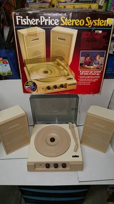 Check out this item in my Etsy shop https://www.etsy.com/listing/466391778/vintage-fisher-price-record-player