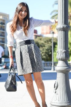Black and white essential in my closet http://mariabernal.es/black-white-essential-closet/