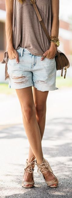 Warm Neutral Summer Outfit