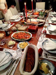Joulupöytä :)