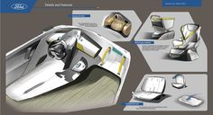 Future Urban Mobility (Ford Sponsor Project) on Behance