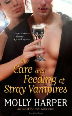 The Care and Feeding of Stray Vampires by Molly Harper, http://www.amazon.com/dp/1451641834/ref=cm_sw_r_pi_dp_Nw-Tqb011D5KA