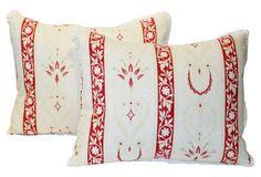 Provençal Floral Pillow, Pair
