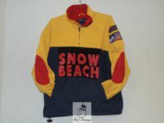 $2999.99 Vintage Ralph Lauren Polo Snow Beach Jacket LG 1993 93 1992 92 Raekwon Wutang | eBay