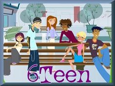 6Teen. It first aired on Nick years before staying on Cartoon Network.