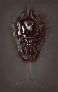 Alien - movie poster - Rafał Rola