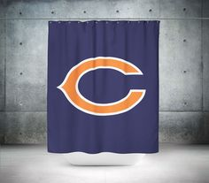 Chicago Bears NFL Shower Curtain Carolina Panthers
