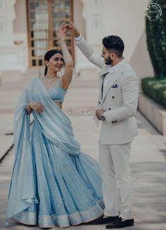 backless wedding dresses with long sleeves Couple Photoshoot Poses, Pre Wedding Photoshoot, Wedding Shoot, Wedding Wear, Wedding Ceremony, Couple Wedding Dress, Wedding Dresses For Groom, Wedding Couples, Punjabi Wedding Couple