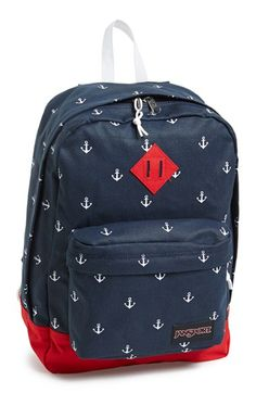 a80cfc90e7 Jansport  Super FX  Backpack available at  Nordstrom Nautical Fashion