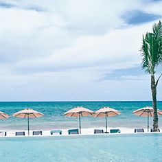 Mexico's 10 Best Seaside Hideaways: Banyan Tree Mayakoba, Playa del Carmen (Mayan Riviera).