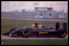 f1 Shake down Jordan 191...one of the best Formula 1 '90