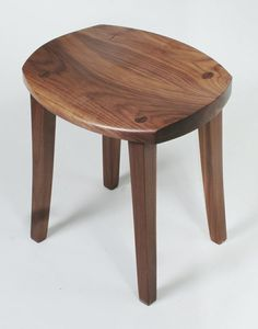 Custom Made Low Stool by Greg Aanes Furniture | CustomMade.com