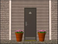 """Mod The Sims - """"Solidity Doors"""" [Recolors]"""