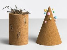 Cork Cone & Magnetic Tower by Daniel Emma