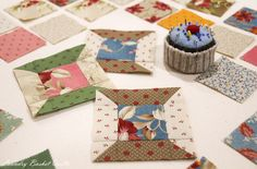 "Ever since my original ""Friendship Spools"" quilt was released in our ""Friendship Strips and Scraps"" book we have enjoyed exchanging strips, making spools and creating beautiful quilts, pincushions,..."