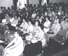 Iranian Delegation and the International Council of Women