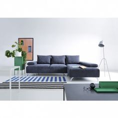 Coltar extensibil Skiner cu sezlong pe dreapta #homedecor #interiordesign #inspiration #decoration #livingroom Living, Couch, Interior, Furniture, Design, Home Decor, Settee, Decoration Home, Sofa