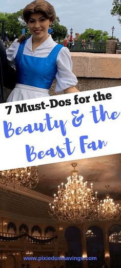 If you are a Beauty and the Beast fan don't miss these awesome attractions and experiences during your Walt Disney World Vacation. Disney World Must Do, Disney World Princess, Disney World With Toddlers, Disney World Florida, Disney World Parks, Walt Disney World Vacations, Disney Worlds, Disney Travel, Disney World Tips And Tricks