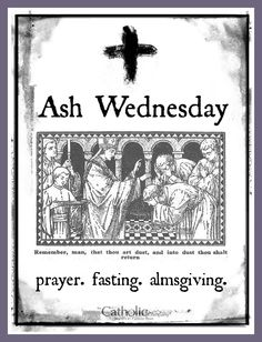 The Catholic Toolbox Ash Wednesday Holiday Ash