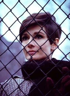 Audrey Hepburn  short hair Gorgeous