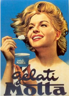 🍦Happy It seems oddly fitting that it is the hottest d. Vintage Italian Posters, Pub Vintage, Vintage Advertising Posters, Vintage Italy, Vintage Labels, Poster Vintage, Vintage Signs, Vintage Advertisements, Vintage Market