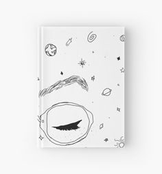 """""""Dodie Clark - Freckles and Constellations"""" Hardcover Journals by happymacey   Redbubble  GIFT IDEAS FOR ANNA"""