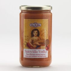 Gia Russa Spicy Vodka Sauce mix this with the regular one for a little kick. Use alone if you want some heat! love it!